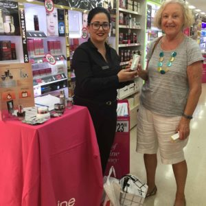 Dr LeWinn's Promotion with Chloe at Carindale and Alexandra at Sunnybank